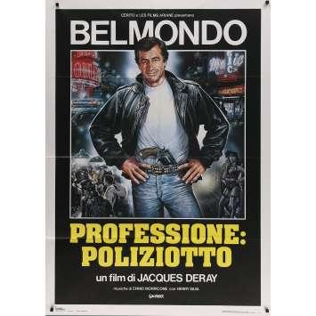 LE MARGINAL Affiche de film - 100x140 cm. - 1983 - Jean-Paul Belmondo, Jacques Deray
