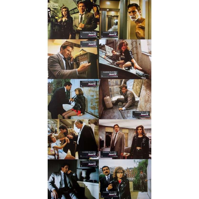 FRANTIC Photos de film x10 - 21x30 cm. - 1988 - Harrison Ford, Roman Polanski