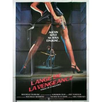 L'ANGE DE LA VENGEANCE Affiche de film - 120x160 cm. - 1981 - Zoë Lund, Abel Ferrara