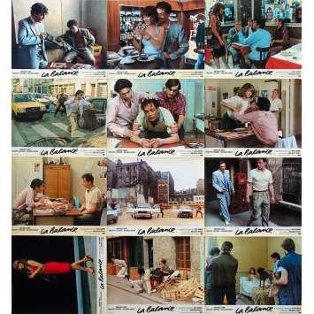 LA BALANCE Photos de film x12 - 24x30 cm. - 1982 - Nathalie Baye, Bob Swaim