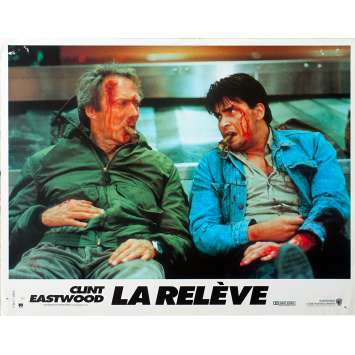 LA RELEVE Photo de film - 21x30 cm. - 1990 - Charlie Sheen, Clint Eastwood