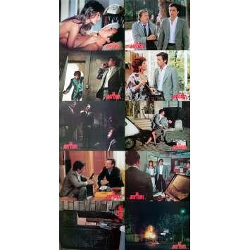 LE BATTANT Photos de film x10 - 21x30 cm. - 1983 - Anne Parillaud, Alain Delon