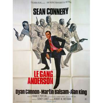 THE ANDERSON TAPES French Movie Poster - 47x63 in. - 1971 - Sidney Lumet, Sean Connery