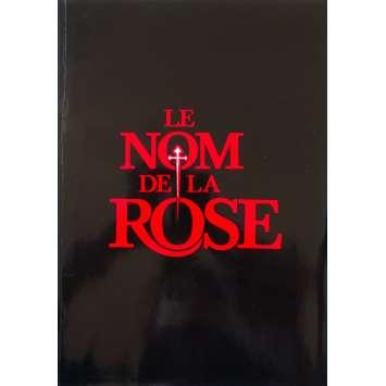 LE NOM DE LA ROSE Dossier de presse - 21x30 cm. - 1987 - Sean Connery, Jean-Jacques Annaud