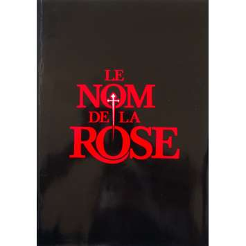 NAME OF THE ROSE French Pressbook - 9x12 in. - 1987 - Jean-Jacques Annaud, Sean Connery