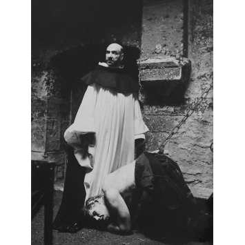 LE NOM DE LA ROSE Photo de presse N4 - 18x24 cm. - 1987 - Sean Connery, Jean-Jacques Annaud
