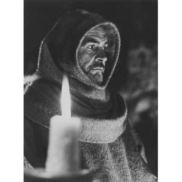 LE NOM DE LA ROSE Photo de presse N1 - 18x24 cm. - 1987 - Sean Connery, Jean-Jacques Annaud