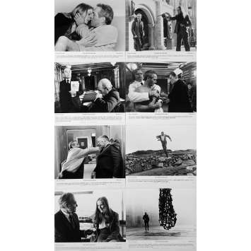 THE MACKINTOSH MAN US Movie Stills x8 - 8x10 in. - 1973 - John Huston, Paul Newman
