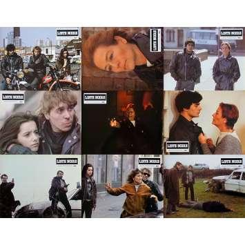 BLACK LIST French Lobby Cards x9 - Jeu B - 9x12 in. - 1984 - Alain Bonnot, Annie Girardot