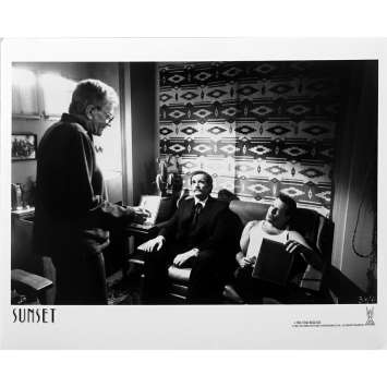 MEURTRE A HOLLYWOOD Photo de presse N01 - 20x25 cm. - 1988 - Bruce Willis, Blake Edwards