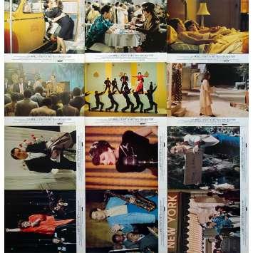 NEW YORK NEW YORK French Lobby Cards x12 - Jeu B - 9x12 in. - 1977 - Martin Scorsese, Robert de Niro
