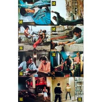 PAROLE DE FLIC Photos de film x8 - 21x30 cm. - 1985 - Alain Delon, José Pinheiro