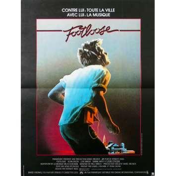 FOOTLOSE Affiche de film - 40x60 cm. - 1984 - Kevin Bacon, Herbert Ross