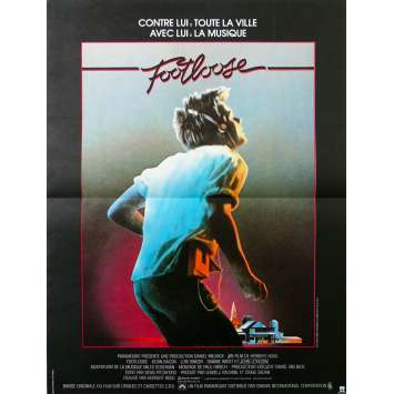 FOOTLOSE French Movie Poster - 15x21 in. - 1984 - Herbert Ross, Kevin Bacon