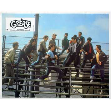GREASE Photo de film - 21x30 cm. - 1978 - John Travolta, Randal Kleiser