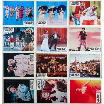 THAT'S ENTERTAINMENT French Lobby Cards x12 - 9x12 in. - 1974 - Jack Haley Jr, Fred Astaire