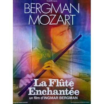 THE MAGIC FLUTE French Movie Poster - 47x63 in. - 1975 - Ingmar Bergman, Ulrik Cold