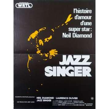 JAZZ SINGER French Movie Poster - 15x21 in. - 1980 - Richard Fleischer, Neil Diamond