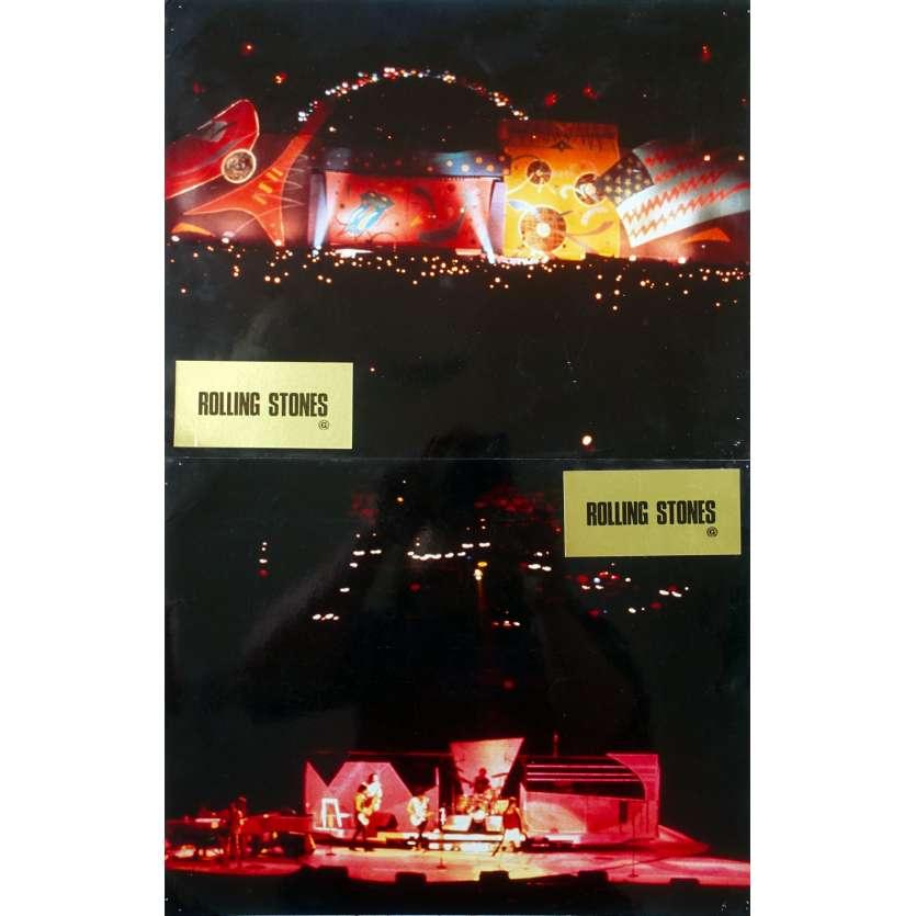 ROLLING STONES Photos de film x2 - 21x30 cm. - 1982 - Mick Jagger, Keith Richards, Hal Ashby