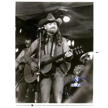 HONEYSUCKLE ROSE US Signed Photo - 7x9 in. - 1980 - Jerry Schatzberg, Willie Nelson