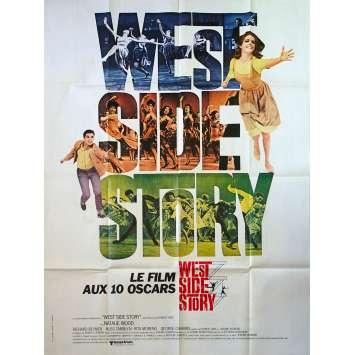 WEST SIDE STORY Affiche de film - 120x160 cm. - 1961 - Natalie Wood, Robert Wise
