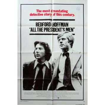 ALL THE PRESIDENT'S MEN US Movie Poster 29x41 - 1976 - Sidney J. Furie, Dustin Hoffmann