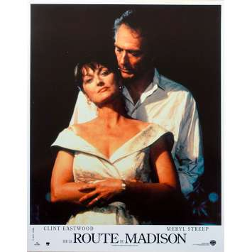 SUR LA ROUTE DE MADISON Photo de film N02 - 21x30 cm. - 1995 - Meryl Streep, Clint Eastwood