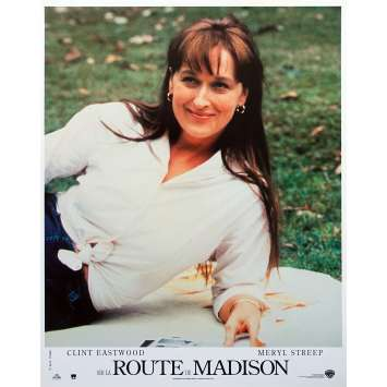 SUR LA ROUTE DE MADISON Photo de film N03 - 21x30 cm. - 1995 - Meryl Streep, Clint Eastwood