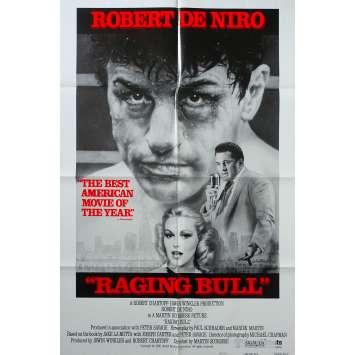 RAGING BULL US Movie Poster Style B - 27x40 in. - 1980 - Martin Scorsese, Robert de Niro