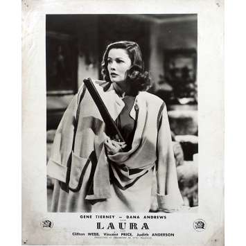 LAURA Photo de film N01 - 24x30 cm. - 1944 - Gene Tierney, Dana Andrews, Otto Preminger