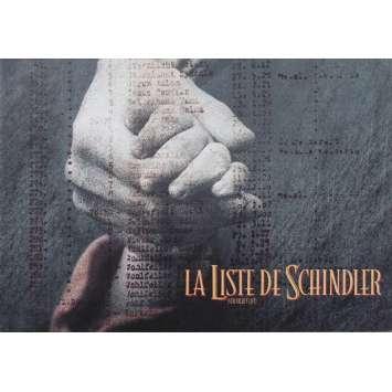 LA LISTE DE SCHINDLER Dossier de presse - 21x30 cm. - 1993 - Liam Neeson, Steven Spielberg