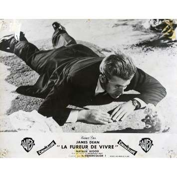 REVEL WITHOUT A CAUSE French Lobby Card N02 - 10x12 in. - 1955 - Nicholas Ray, James Dean