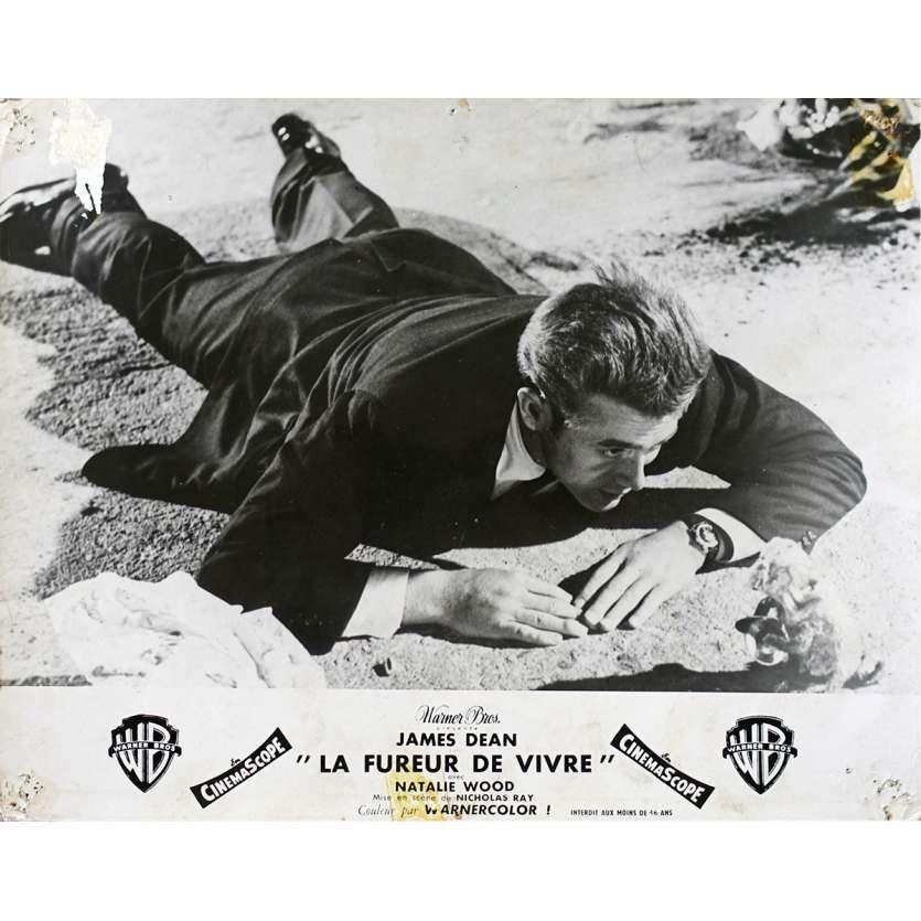 LA FUREUR DE VIVRE Photo de film N02 - 24x30 cm. - 1955 - James Dean, Nicholas Ray