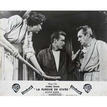 REVEL WITHOUT A CAUSE French Lobby Card N01 - 10x12 in. - 1955 - Nicholas Ray, James Dean