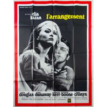THE ARRANGEMENT French Movie Poster - 47x63 in. - 1969 - Elia Kazan, Kirk Douglas