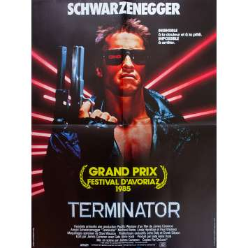 TERMINATOR Affiche de film - 60x80 cm. - 1983 - Arnold Schwarzenegger, James Cameron