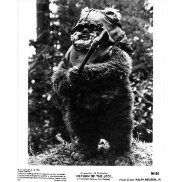 STAR WARS - LE RETOUR DU JEDI Photo de presse N16180 - 21x30 cm. - 1983 - Harrison Ford, Richard Marquand