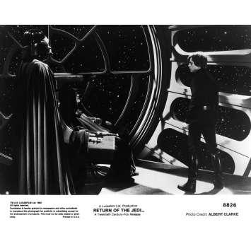 STAR WARS - LE RETOUR DU JEDI Photo de presse N8826 - 21x30 cm. - 1983 - Harrison Ford, Richard Marquand