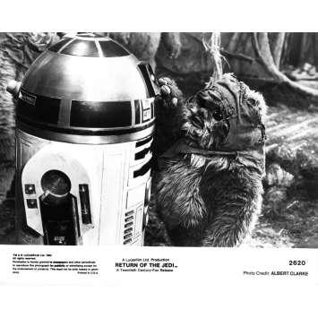 STAR WARS - LE RETOUR DU JEDI Photo de presse N2620 - 21x30 cm. - 1983 - Harrison Ford, Richard Marquand