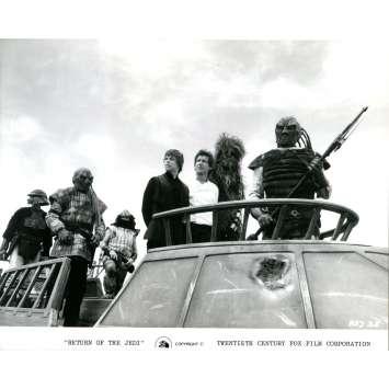 STAR WARS - LE RETOUR DU JEDI Photo de presse N38 - 21x30 cm. - 1983 - Harrison Ford, Richard Marquand