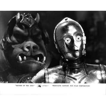STAR WARS - LE RETOUR DU JEDI Photo de presse N28 - 21x30 cm. - 1983 - Harrison Ford, Richard Marquand