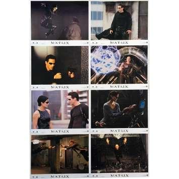MATRIX US Lobby Cards - 11x14 in. - 1999 - Andy et Lana Wachowski, Keanu Reeves