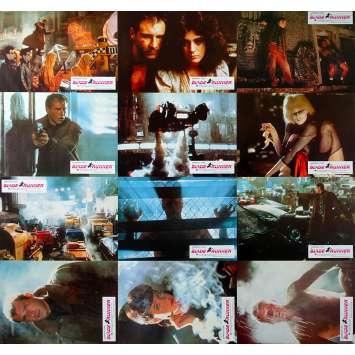 BLADE RUNNER Photos de film x12 - 21x30 cm. - 1982 - Harrison Ford, Ridley Scott