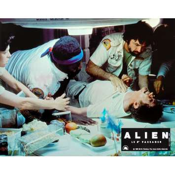 ALIEN French Lobby Card N02 - 9x12 in. - 1979 - Ridley Scott, Sigourney Weaver