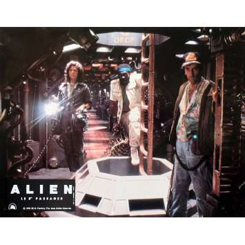 ALIEN French Lobby Card N01 - 9x12 in. - 1979 - Ridley Scott, Sigourney Weaver