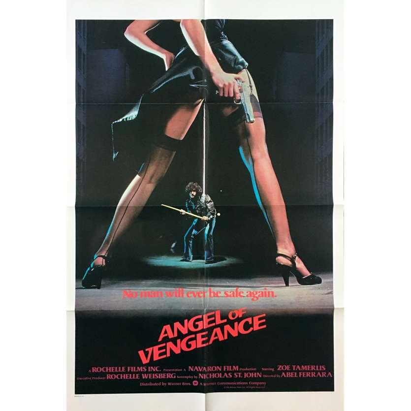 MS.45 / ANGEL OF VENGEANCE US Movie Poster - 27x40 in. - 1981 - Abel Ferrara, Zoë Lund