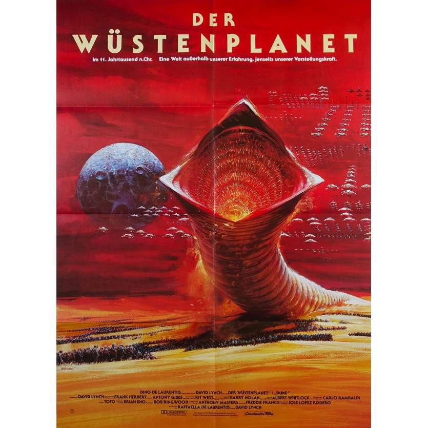 DUNE German Movie Poster - 23x33 in. - 1982 - David Lynch, Kyle McLachlan
