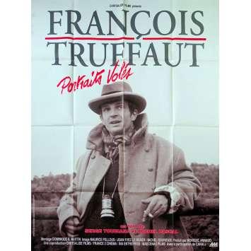 FRANÇOIS TRUFFAUT : PORTRAITS VOLES Affiche de film - 120x160 cm. - 1993 - Fanny Ardant, Serge Toubiana