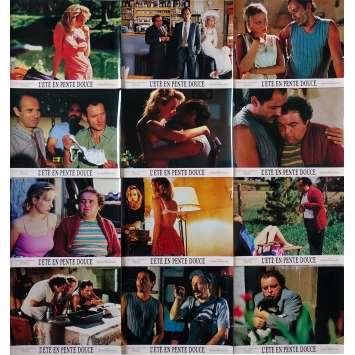 L'ETE EN PENTE DOUCE Photos de film X12 - 24x30 cm. - 1987 - Pauline Laffont, Gérard Krawczyk