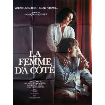 THE WOMAN NEXT DOOR French Movie Poster - 47x63 in. - 1981 - François Truffaut, Gérard Depardieu